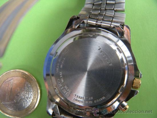 Relojes - Seiko: RELOJ AUTOMÁTICO SEIKO KINETIC 72 HORAS INDICATOR - Foto 3 - 194257161
