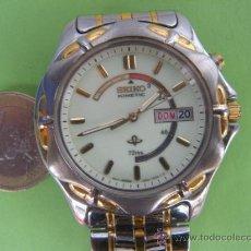 Relojes - Seiko: RELOJ AUTOMÁTICO SEIKO KINETIC 72 HORAS INDICATOR. Lote 194257161