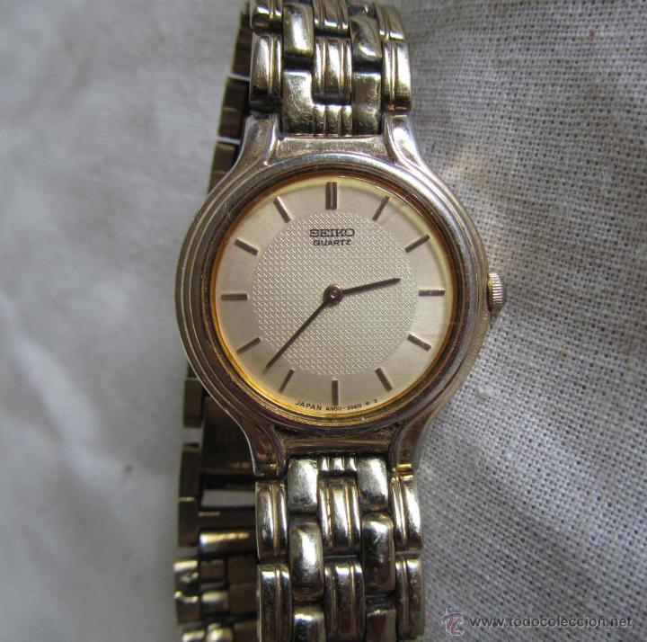 RELOJ DE PULSERA SEÑORA SEIKO. CORREA METÁLICA ORIGINAL (Relojes - Relojes Actuales - Seiko)