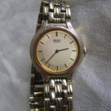 Relojes - Seiko: RELOJ DE PULSERA SEÑORA SEIKO. CORREA METÁLICA ORIGINAL. Lote 41620707