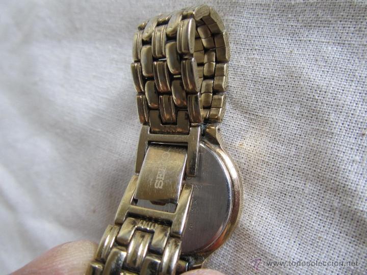 Relojes - Seiko: Reloj de pulsera señora Seiko. Correa metálica original - Foto 3 - 41620707