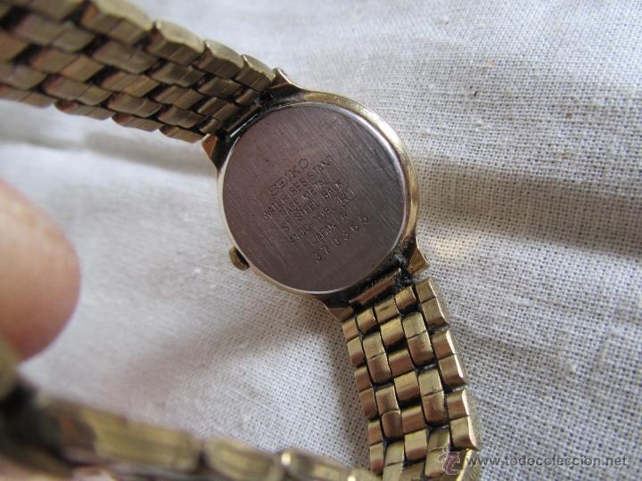 Relojes - Seiko: Reloj de pulsera señora Seiko. Correa metálica original - Foto 4 - 41620707