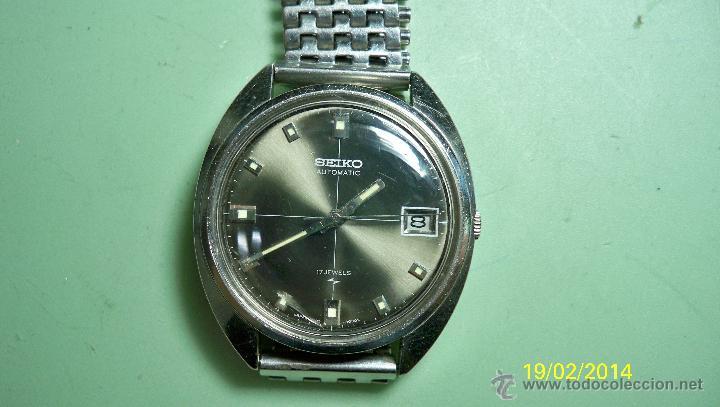 Relojes - Seiko: Reloj Seiko automatico. Funciona perfectamente - Foto 7 - 41684721