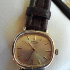 Relojes - Seiko: SEIKO QUARTZ RELOJ PARA MUJER, RESISTENTE AL AGUA, CORREA NUEVA, JAPAN MOVEMENT, BATERÍA NUEVA. Lote 42493174