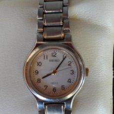 Relojes - Seiko: SEIKO SPIRIT RELOJ PARA MUJER, ANTIMAGNETIC, RESISTENTE AL AGUA, CORREA DE ACERO, BATERÍA NUEVA. Lote 42509196