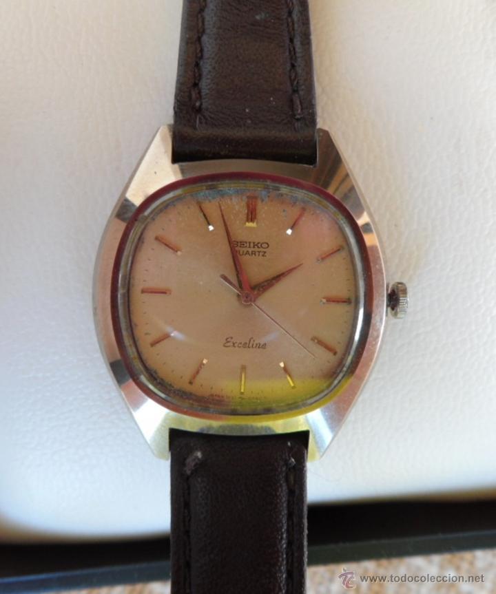 bbf290ae4aea seiko exceline quartz reloj de mujer