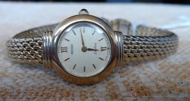 Relojes - Seiko: Seiko Exceline Reloj de mujer, Batería y cristal nuevos, Correa de acero inoxidable dorado - Foto 4 - 92127474