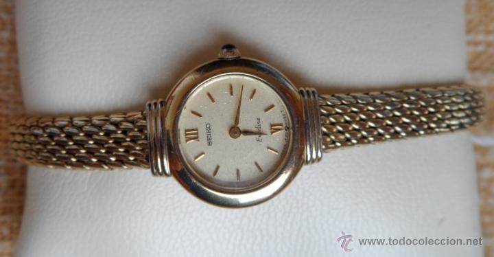 Relojes - Seiko: Seiko Exceline Reloj de mujer, Batería y cristal nuevos, Correa de acero inoxidable dorado - Foto 5 - 92127474