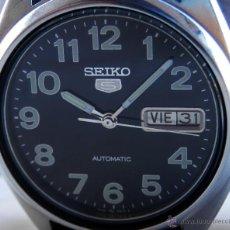 Relojes - Seiko: RELOJ SEIKO 5 MECÁNICA POR MOVIMIENTO MANUAL AÑOS 80. Lote 110193522