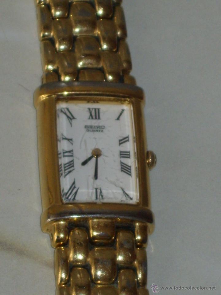 Relojes - Seiko: RELOJ DE PULSERA MUJER SEIKO,NUMERADO.CORREA ORIGINAL SEIKO. - Foto 3 - 44269317
