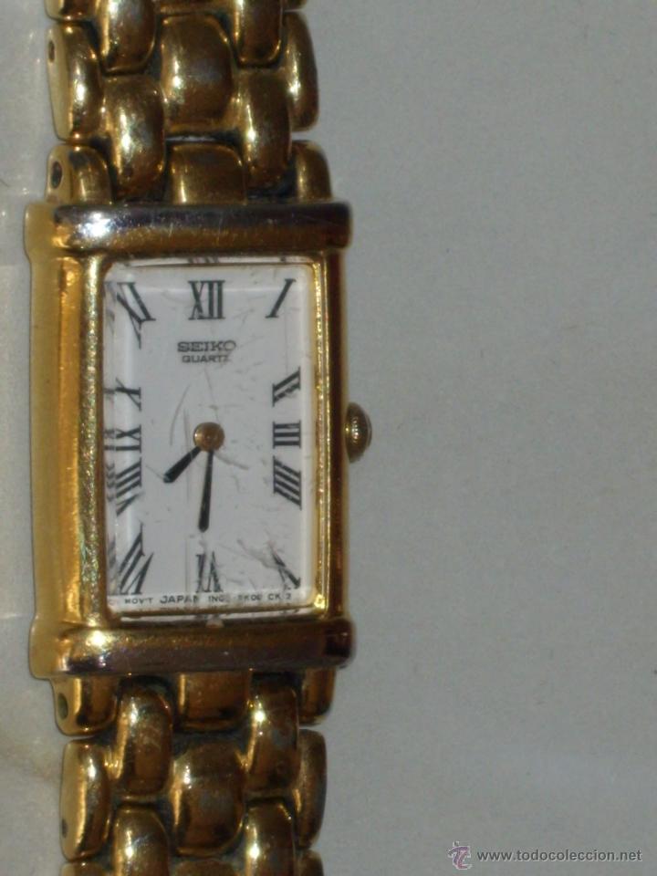 Relojes - Seiko: RELOJ DE PULSERA MUJER SEIKO,NUMERADO.CORREA ORIGINAL SEIKO. - Foto 4 - 44269317