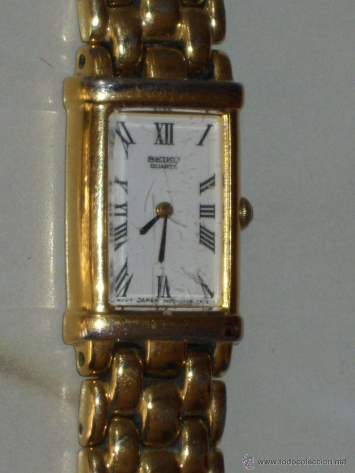 Relojes - Seiko: RELOJ DE PULSERA MUJER SEIKO,NUMERADO.CORREA ORIGINAL SEIKO. - Foto 5 - 44269317