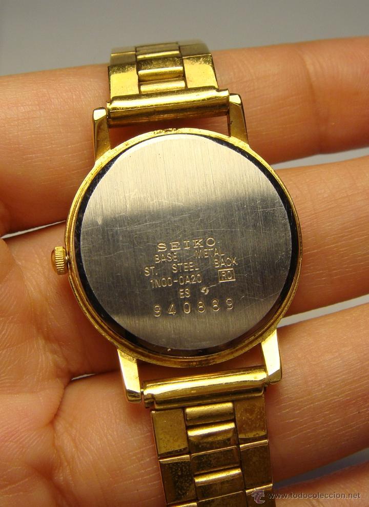 b73c904e4ea2 reloj de pulsera. seiko - quartz. baño de oro. - Comprar Relojes ...