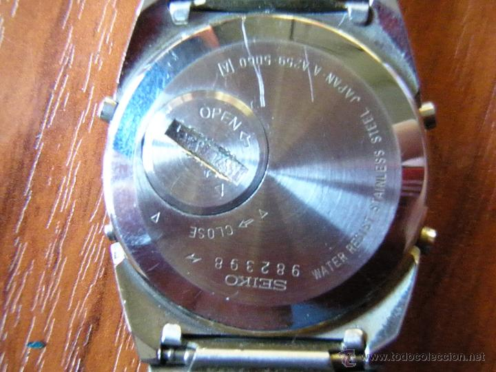 Relojes - Seiko: RELOJ DIGITAL SEIKO A-259 A259 - Foto 3 - 51961439