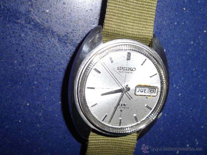 BONITO RELOJ AUTOMÁTICO SEIKO DX AÑO 1.971 25 RUBIS 6106-6003 VINTAGE MADE IN JAPAN (Relojes - Relojes Actuales - Seiko)
