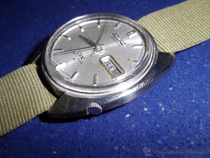 Relojes - Seiko: Bonito reloj automático Seiko DX año 1.971 25 rubis 6106-6003 vintage made in Japan - Foto 2 - 52031853