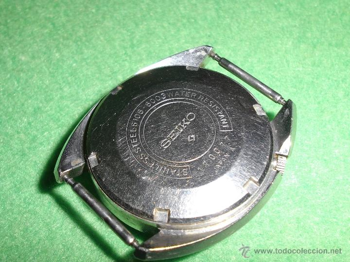 Relojes - Seiko: Bonito reloj automático Seiko DX año 1.971 25 rubis 6106-6003 vintage made in Japan - Foto 4 - 52031853