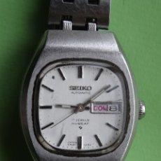 Relojes - Seiko: RELOJ SEIKO AUTOMATICO DE SEÑORA FECHA EN CASTELLANO AÑOS 80. Lote 103917186