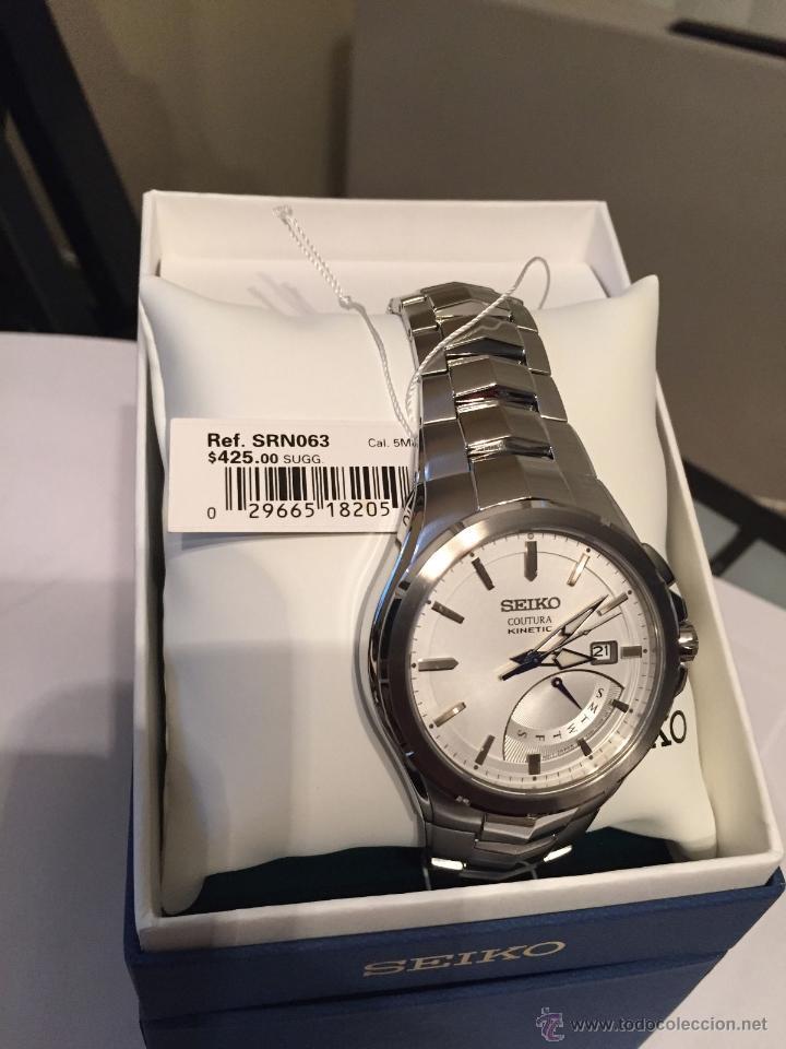Relojes - Seiko: Seiko Coutura Kinetic Retrograde Silver Dial - Foto 3 - 53637970