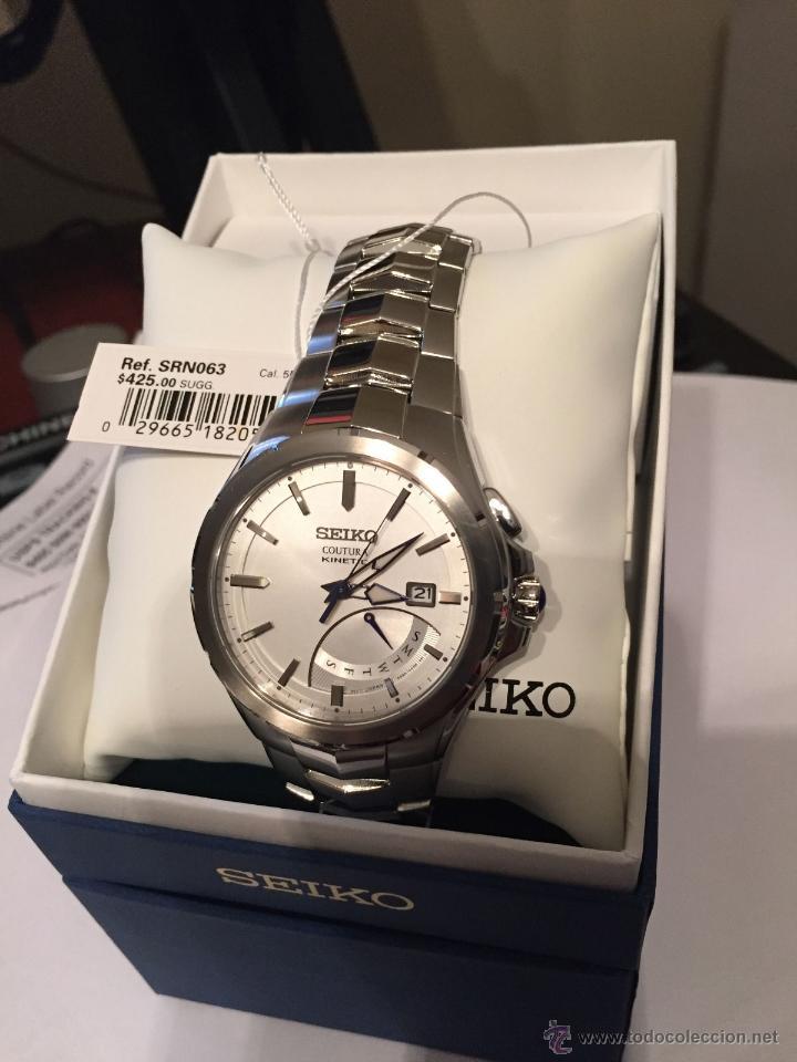Relojes - Seiko: Seiko Coutura Kinetic Retrograde Silver Dial - Foto 4 - 53637970