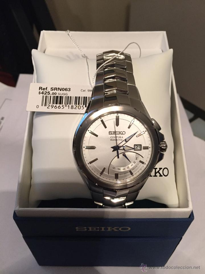 Relojes - Seiko: Seiko Coutura Kinetic Retrograde Silver Dial - Foto 5 - 53637970