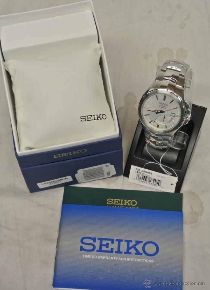Relojes - Seiko: Seiko Coutura Kinetic Retrograde Silver Dial - Foto 8 - 53637970