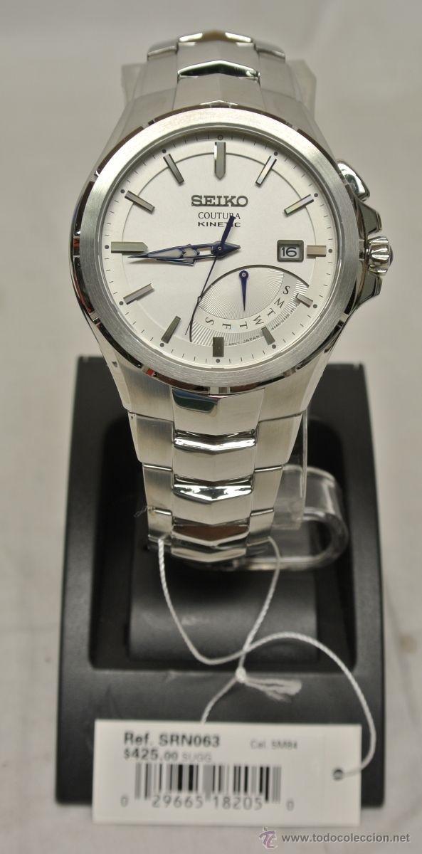Relojes - Seiko: Seiko Coutura Kinetic Retrograde Silver Dial - Foto 9 - 53637970