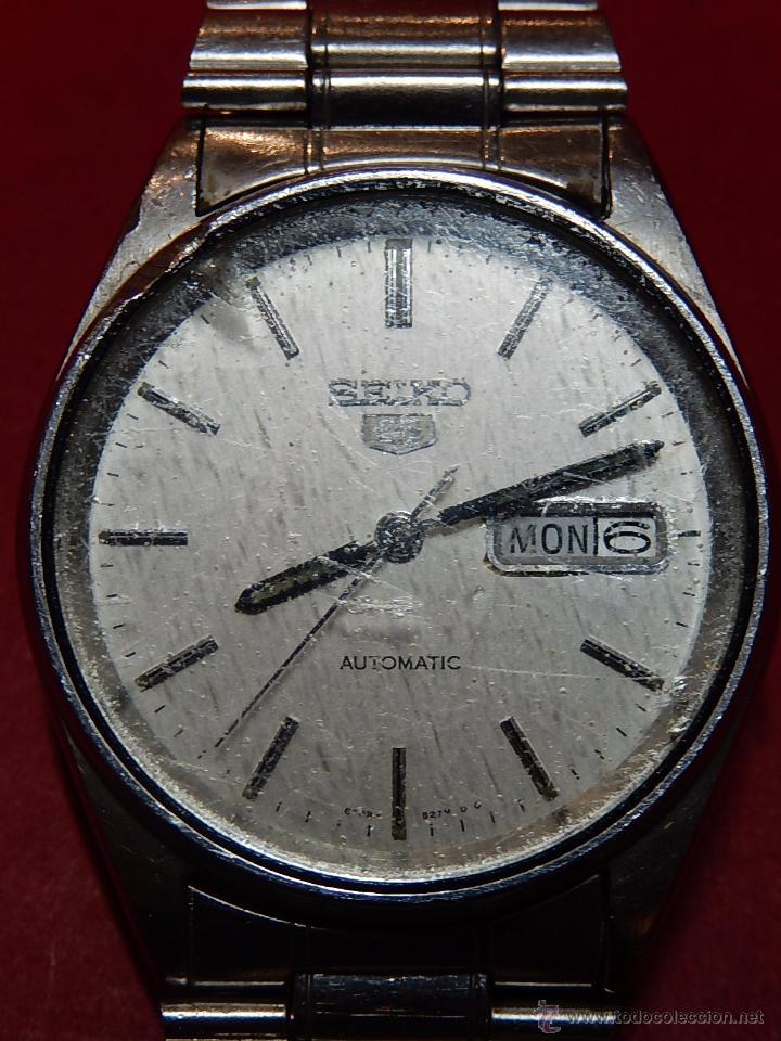 Relojes - Seiko: Reloj de pulsera. Seiko. Automatic. En estado de marcha. - Foto 3 - 54243083