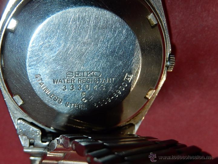 Relojes - Seiko: Reloj de pulsera. Seiko. Automatic. En estado de marcha. - Foto 6 - 54243083