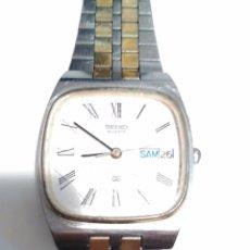 Relojes - Seiko: RELOJ SEIKO HOMBRE CUARZO FUNCIONANDO CORRECTAMENTE BUEN ESTADO DE CONSERVACION .MUY BONITO. Lote 55378986