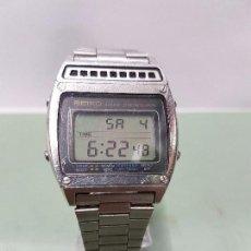 Relojes - Seiko: RELOJ DE CABALLERO (VINTAGE) ANALÓGICO Y DIGITAL DE CUARZO CON CORREA ORIGINAL DE SEIKO ACERO. Lote 57348372