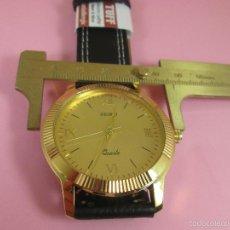 Relojes - Seiko: 74-RELOJ-SEIKO QUARTZ-JAPAN-DORADO-PERFECTO ESTDO-GRANDE-47 MM.D-VER FOTOS.. Lote 57643944
