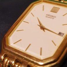 Relojes - Seiko: RELOJ SEIKO CHAPADO EN ORO 18 KILATES EXTRAPLANO. Lote 57911455