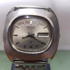 Relojes - Seiko: RELOJ DE CABALLERO (VINTAGE) SEIKO AUTOMÁTICO CON DOBLE CALENDARIO A LAS TRES CALIBRE 7006-5000 . Lote 59177805