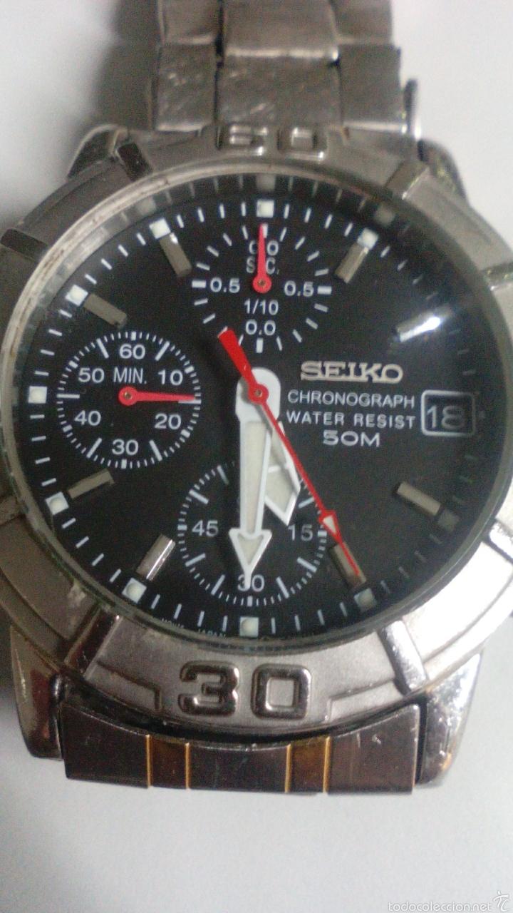 SEIKO.....CRONO...CABALLERO... COMO NUEVO (Relojes - Relojes Actuales - Seiko)