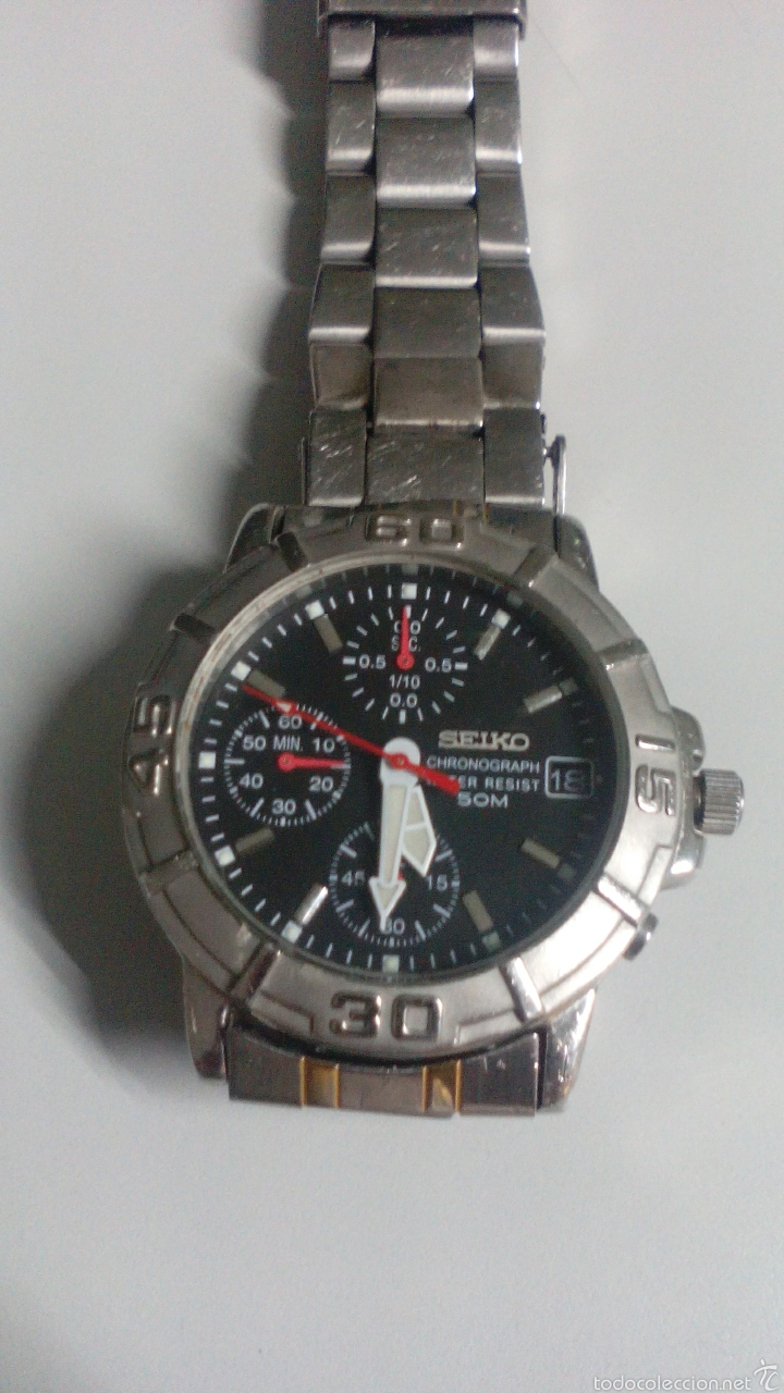 Relojes - Seiko: Seiko.....crono...caballero... como nuevo - Foto 5 - 59547992