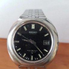 Relojes - Seiko: RELOJ DE CABALLERO AUTOMÁTICO SEIKO CALIBRE 7005-8160 CON CALENDARIO, CORREA ACERO ORIGINAL SEIKO.. Lote 62470360