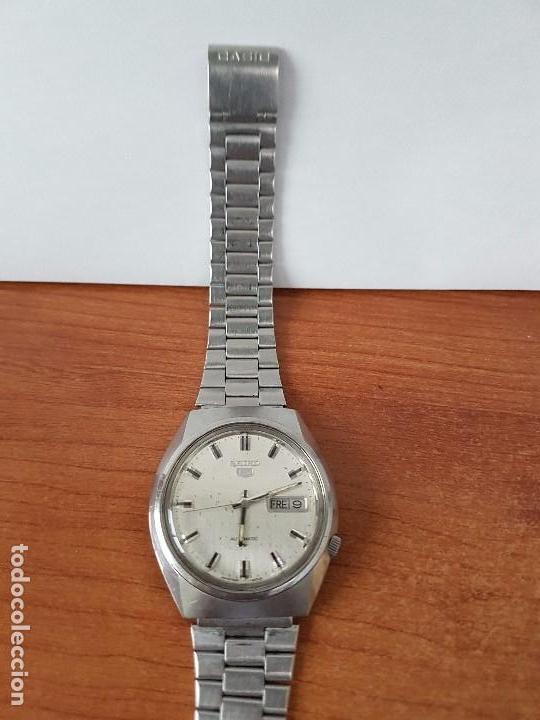 Relojes - Seiko: Reloj de caballero (Vintage) Seiko automático con doble calendario a las tres calibre 7009-8310. - Foto 5 - 62472716