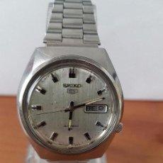 Relojes - Seiko: RELOJ DE CABALLERO (VINTAGE) SEIKO AUTOMÁTICO CON DOBLE CALENDARIO A LAS TRES CALIBRE 7009-8310. . Lote 62472716