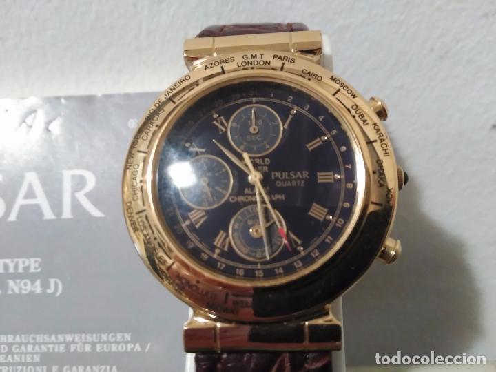 37e60d704 Watches - Seiko: RELOJ PULSAR N94J CRONOGRAFO WORLD TIMER CHRONOGRAPH NUEVO  A ESTRENAR DE SEIKO