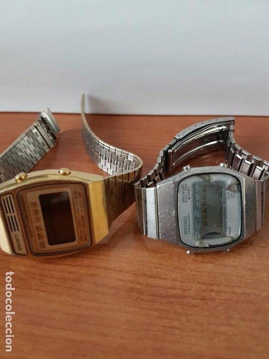 Relojes - Seiko: Dos relojes de caballero (Vintage) Seiko con correas originales Seiko para repuestos (Fornituras) - Foto 2 - 67686737