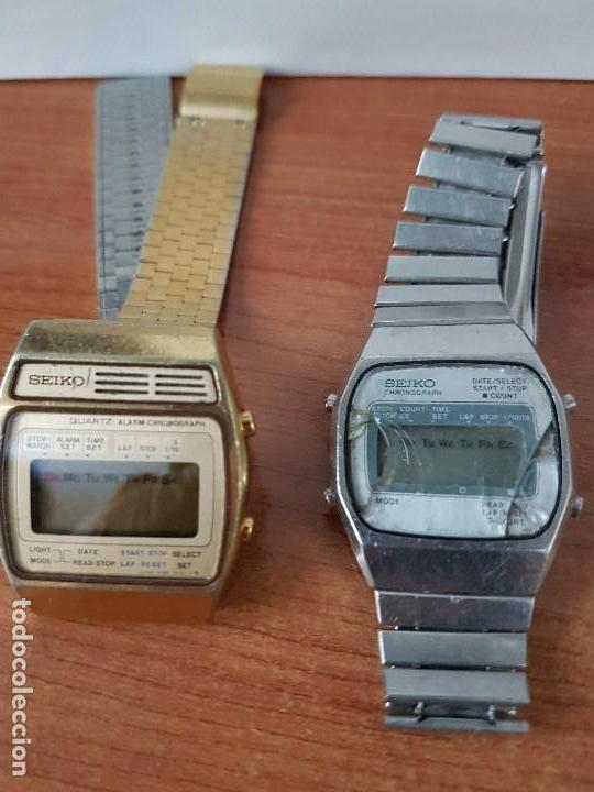 Relojes - Seiko: Dos relojes de caballero (Vintage) Seiko con correas originales Seiko para repuestos (Fornituras) - Foto 5 - 67686737