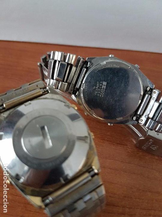 Relojes - Seiko: Dos relojes de caballero (Vintage) Seiko con correas originales Seiko para repuestos (Fornituras) - Foto 6 - 67686737