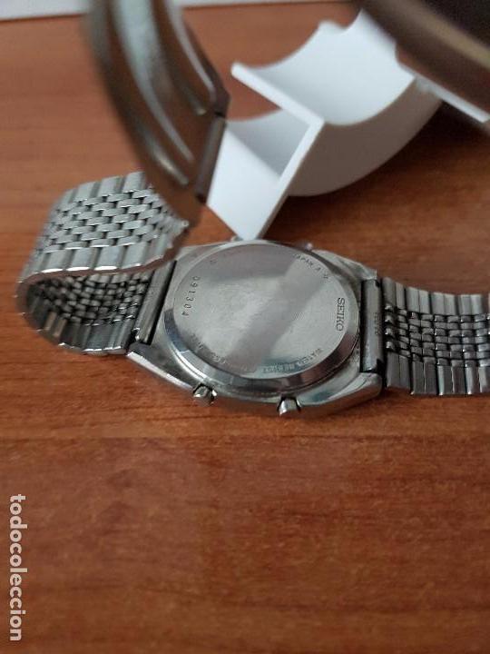 Relojes - Seiko: Un reloj de caballero (Vintage) Seiko con correa original Seiko, para repuestos - Foto 3 - 67687657