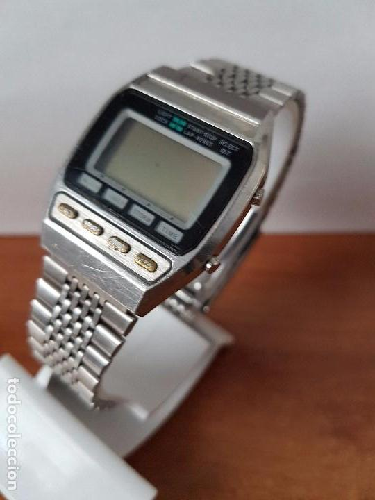 Relojes - Seiko: Un reloj de caballero (Vintage) Seiko con correa original Seiko, para repuestos - Foto 9 - 67687657