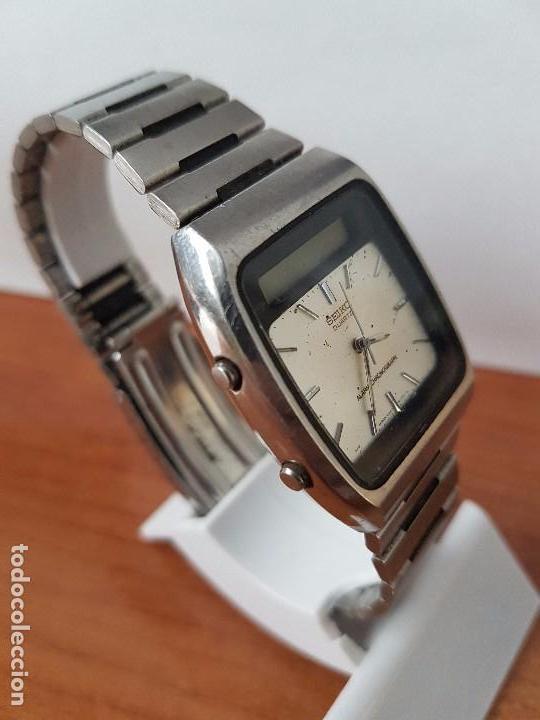 Relojes - Seiko: Un reloj de caballero (Vintage) Seiko ana digi con correa original Seiko, para repuestos - Foto 2 - 67687997