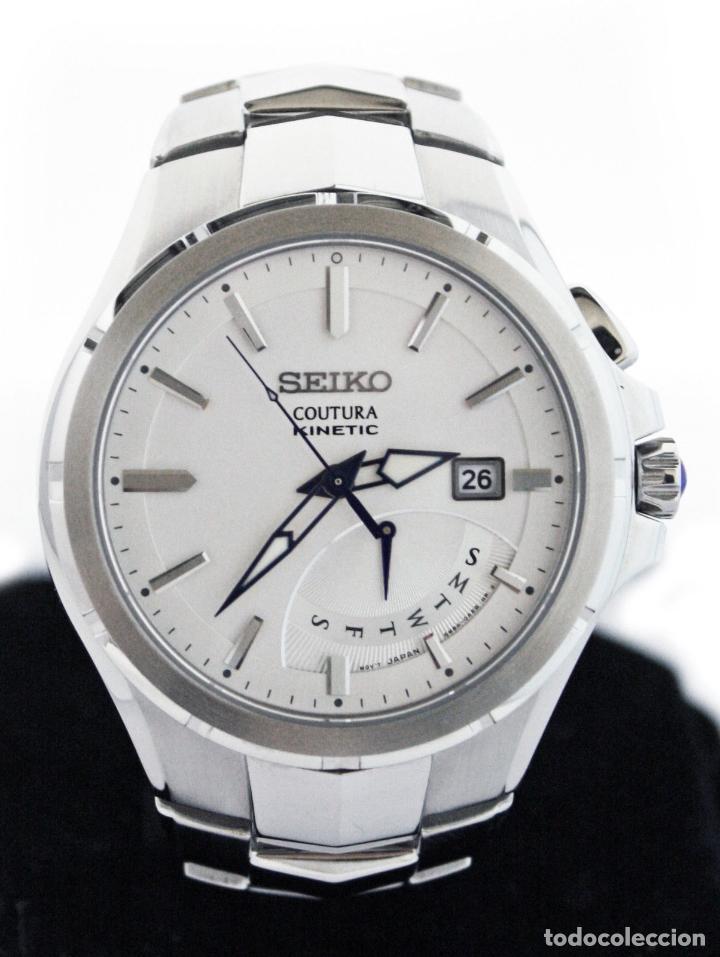 SEIKO COUTURA KINETIC RETROGRADE SILVER DIAL (Relojes - Relojes Actuales - Seiko)