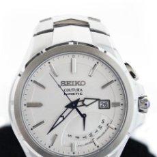 Relojes - Seiko: SEIKO COUTURA KINETIC RETROGRADE SILVER DIAL. Lote 53637970