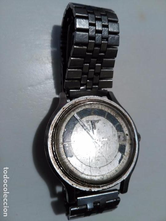 Relojes - Seiko: RELOJ SEIKO AUTOMATICO FUNCIONANDO - Foto 2 - 71718999