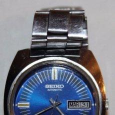 Relojes - Seiko: RELOJ SEIKO AUTOMATIC 19 JEWELS 7006-8060 JAPAN CON CALENDARIO. FUNCIONANDO. Lote 74641759